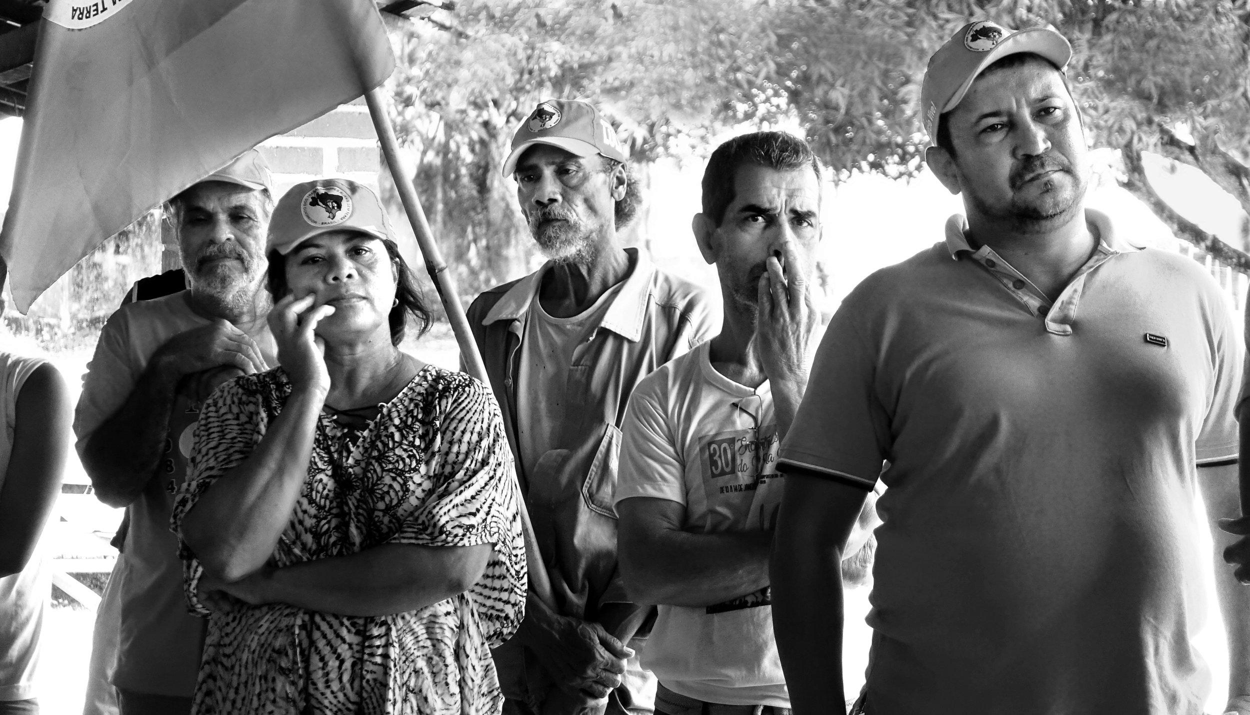 «Die Frauen und Männer, die kämpfen und ihren Traum von Gerechtigkeit verfolgen, werden gewinnen.» MST, Brasilien
