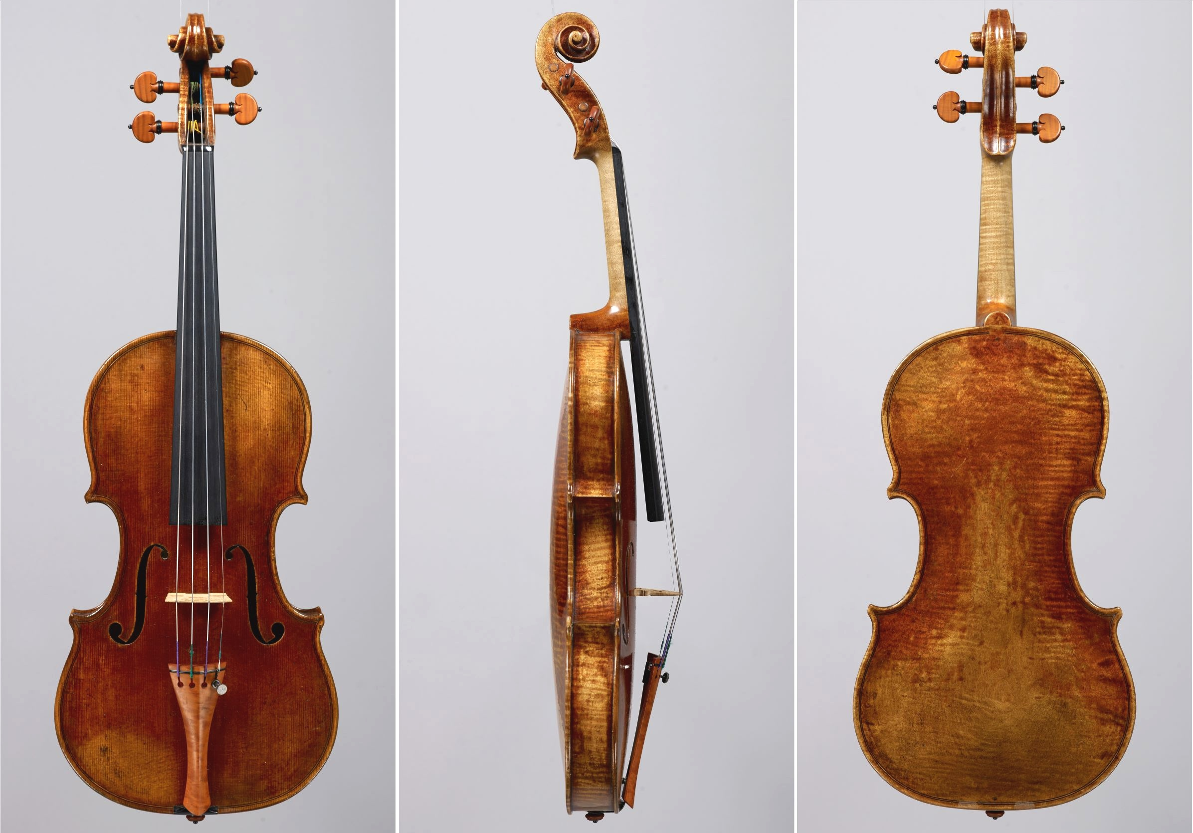 Guadagnini model violin, played by Glenn Dicterow