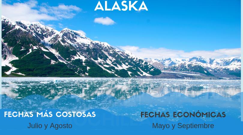 El clima extremo de Alaska tiene gran influencia sobre la temporada de cruceros.
