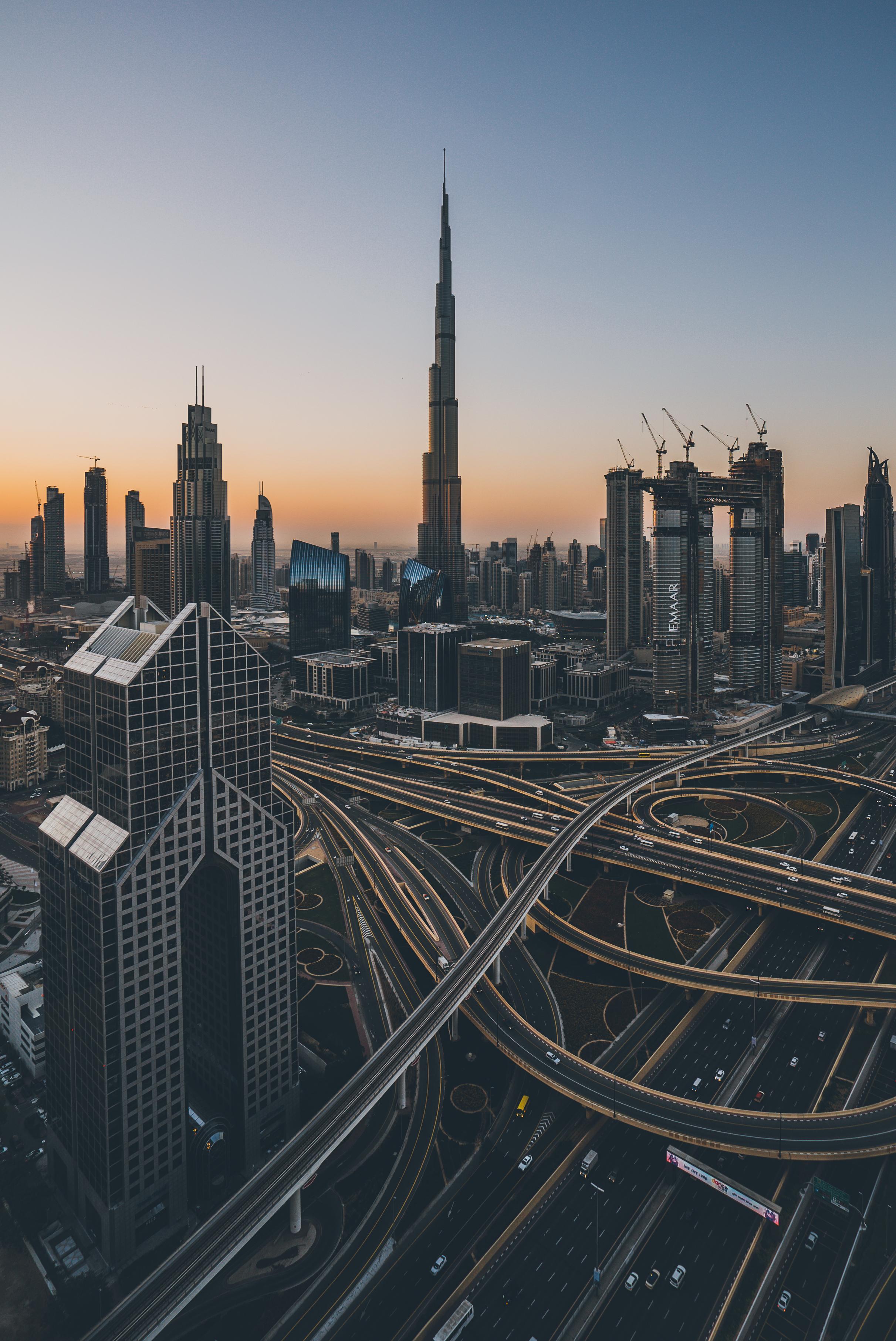 Dubai - Una ciudad llena de obras y edificios impresionantes…
