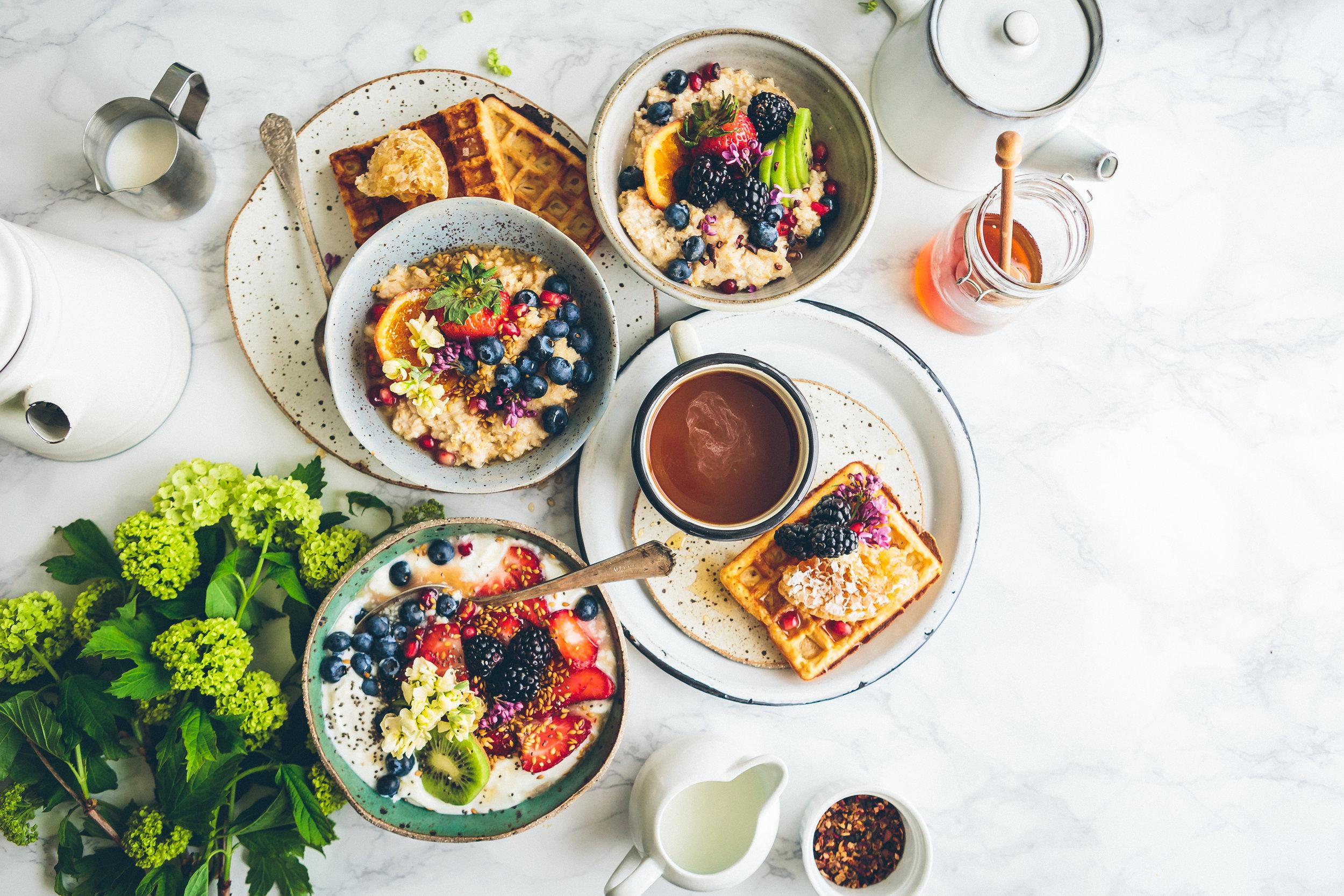 Una de las mejores cosas de NYC - Es el desayuno…