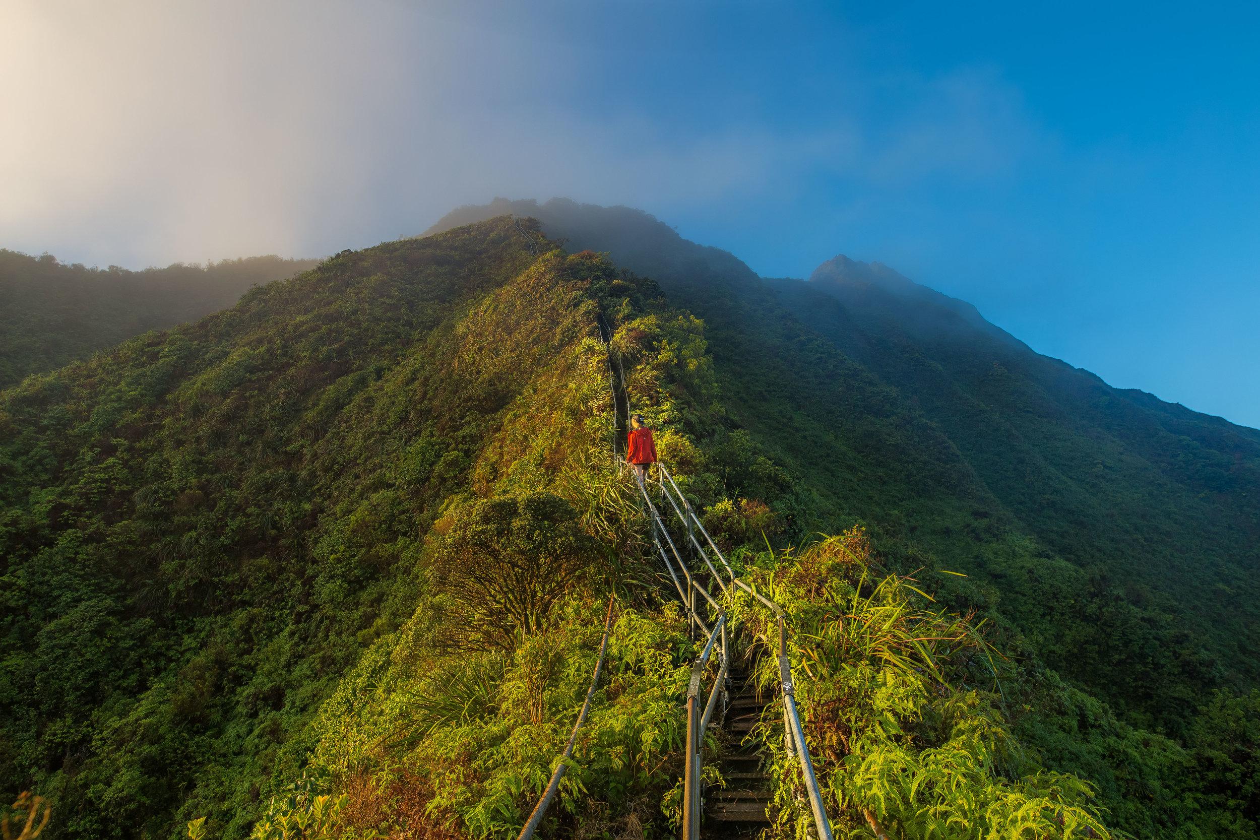 Haiku Stairs… - Escaleras al cielo