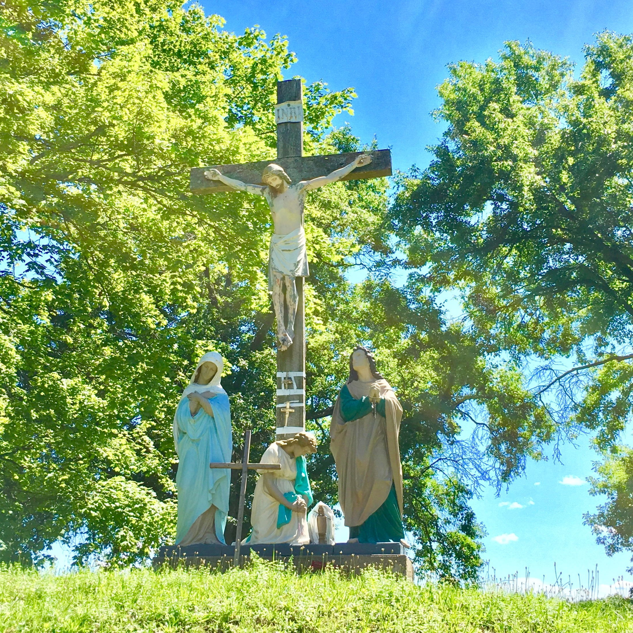 - For over 130 years, the Shrine was under the ownership and direction of the Society of Jesus (Jesuits), but is now owned and operated by the Friends of Our Lady of Martyrs Shrine, a board of volunteers dedicated to maintaining both the sanctity and viability of these holy grounds.