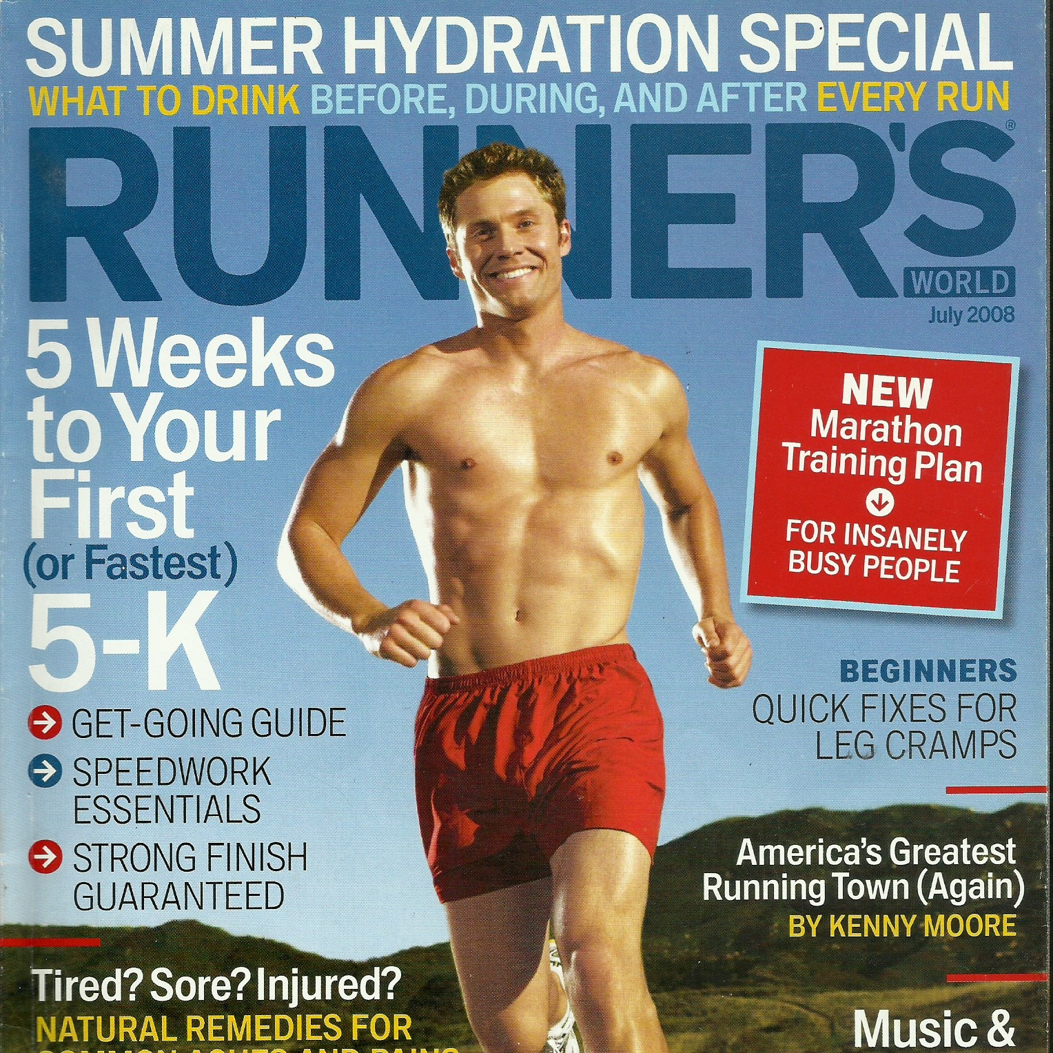 """""""Stroking movements flush out the waste products and dilate blood vessels so oxygen and nutrients flow more quickly to speed recovery."""" - ARTICLE: """"Natural Cures. Can alternative remedies offer runners a better route to Pain Relief?""""BY: Betsy Noxon"""