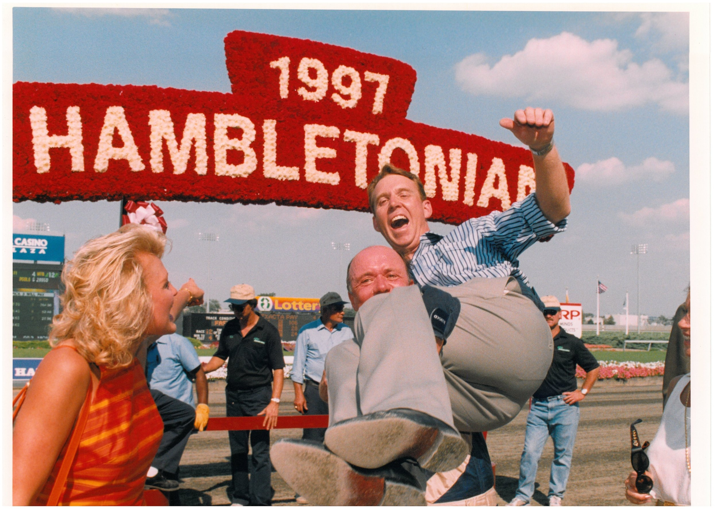 970809 Christina & Jimmy Takter and Mal Burroughs.jpg