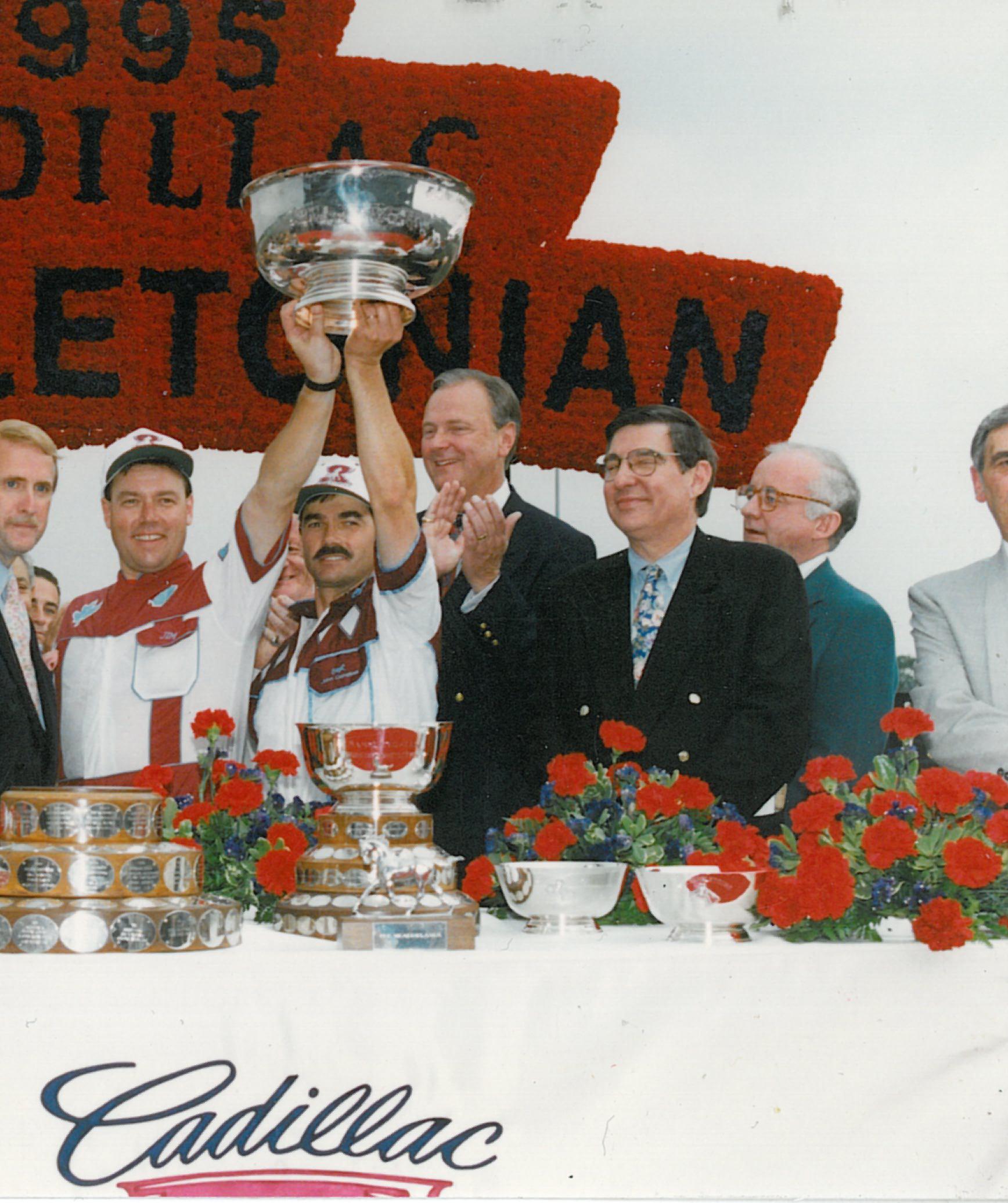 1995 Hambletonian Winners Circle.jpg