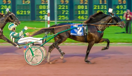 Father Patrick & driver Yannick Gingras