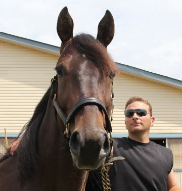 He's Watching with trainer Dave Menary
