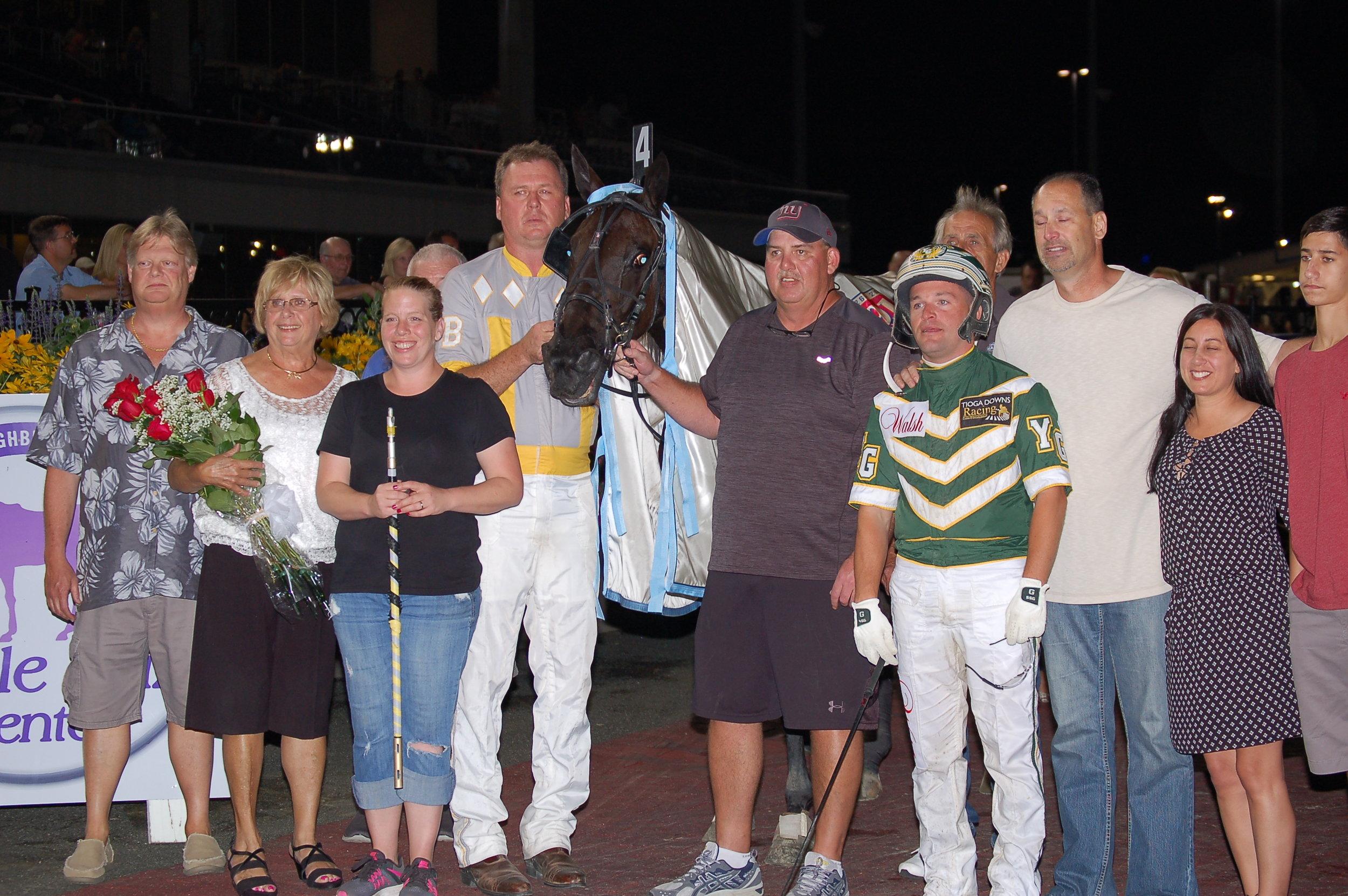 Hannelore Hanover Winners Circle (2).JPG