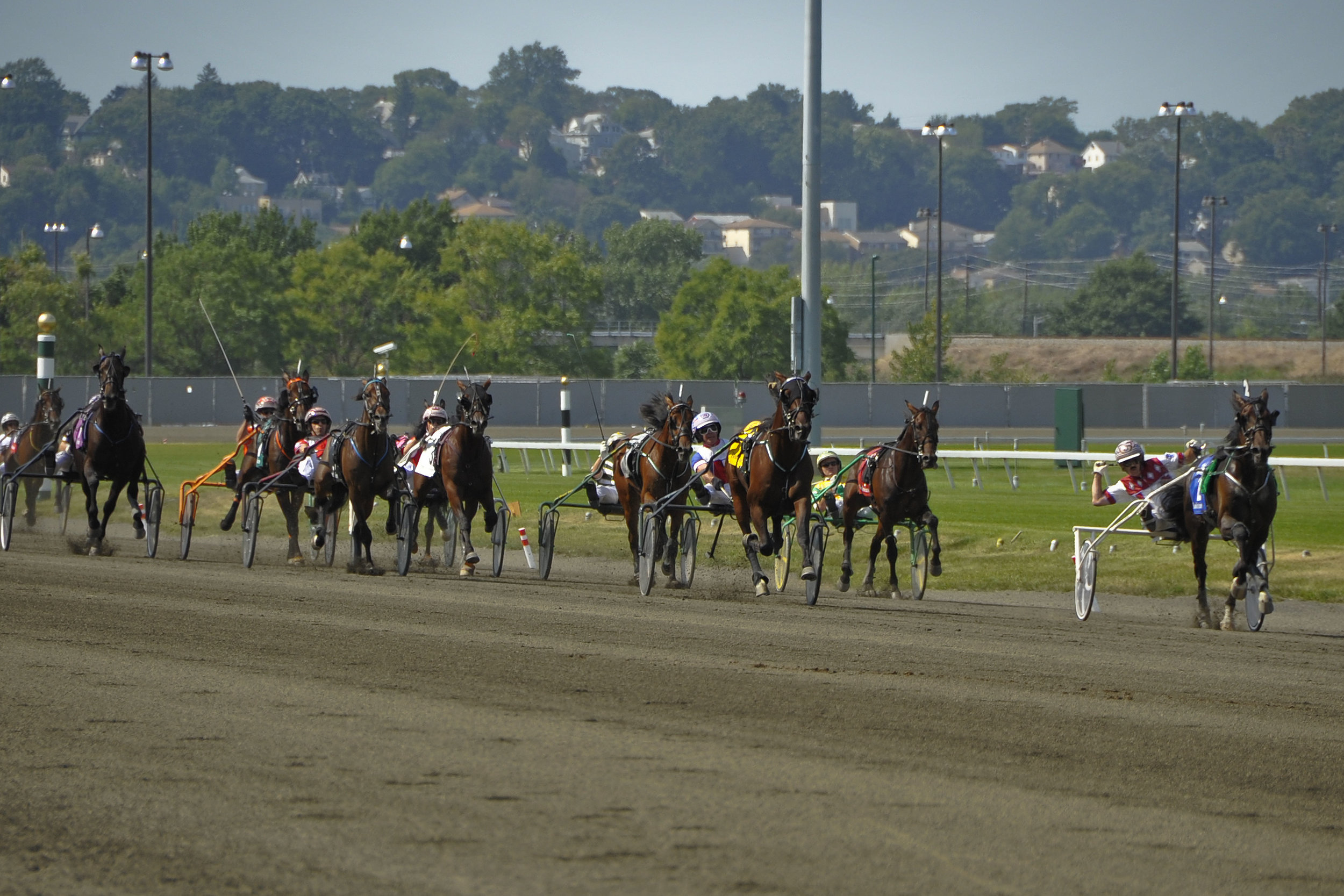 Hambletonian stretch.JPG
