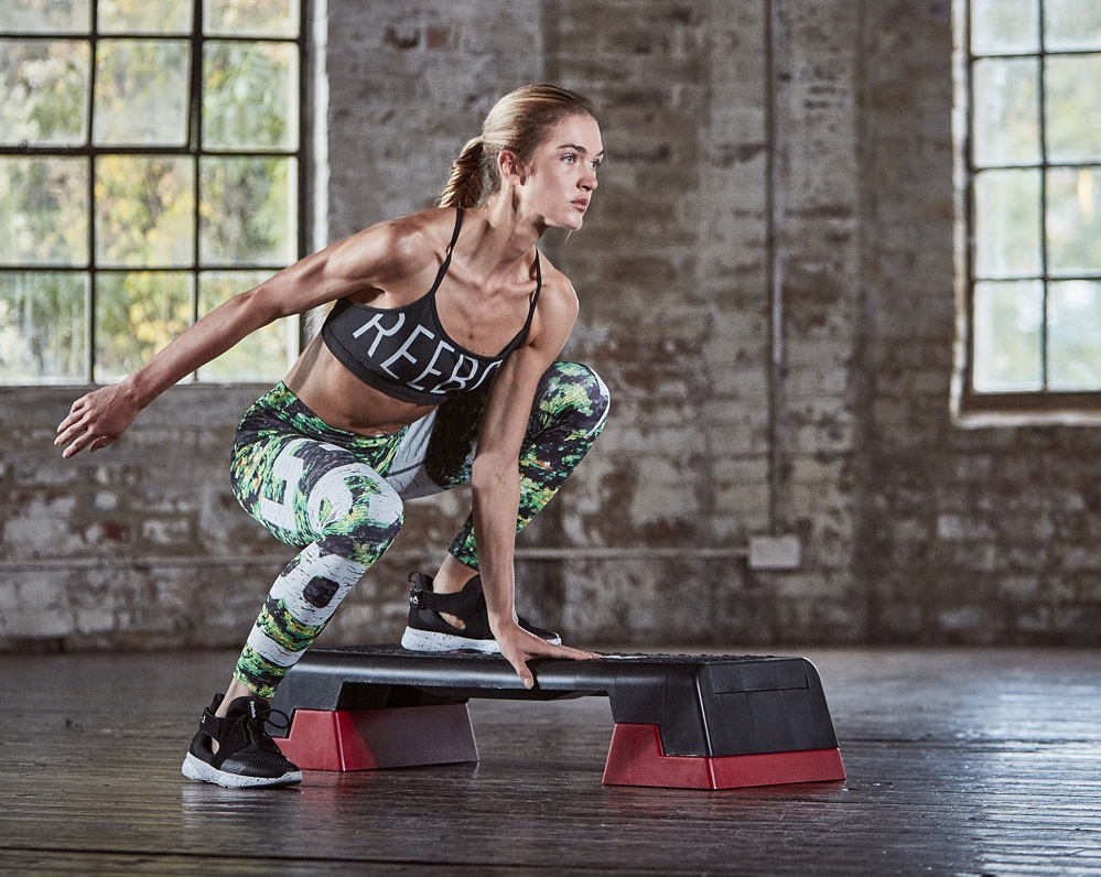 Millions continue to use the Step Reebok fitness programmes today, originally developed by Joanna Hall and Reebok in 1989.