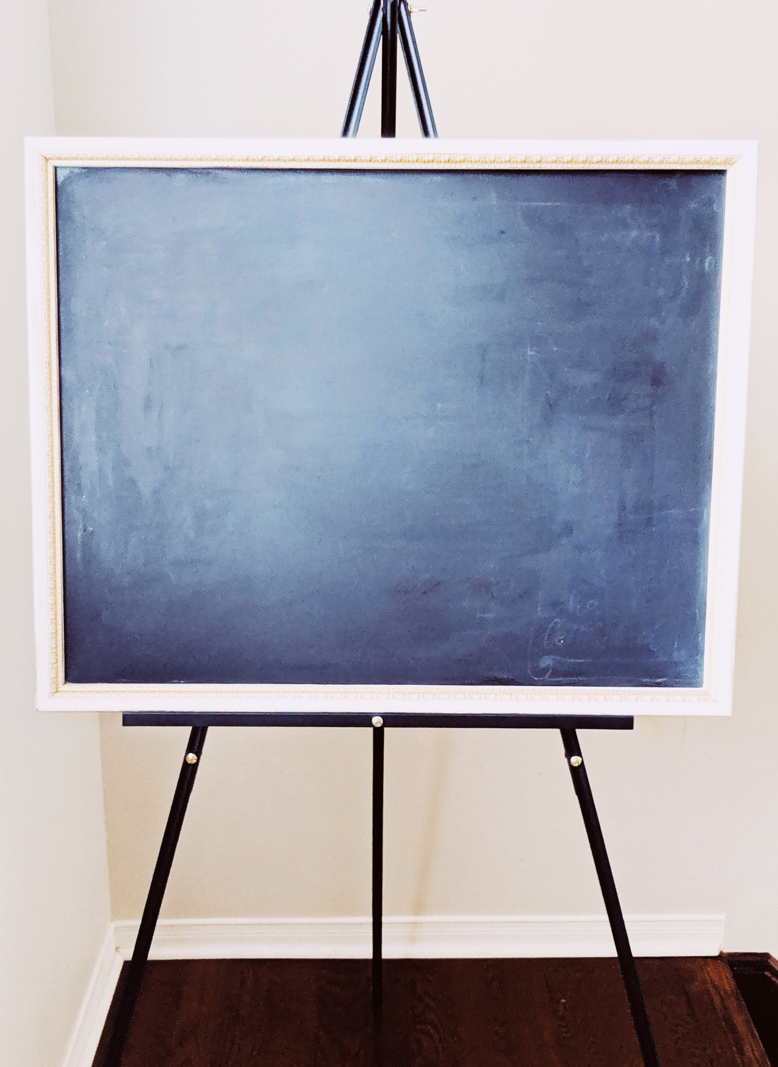 """24"""" x 30"""" Chalkboard Sign - Ideal for Welcome sign, Seating chart for small size events, Menu sign.Rental Fee: $30; Security Deposit: $60"""