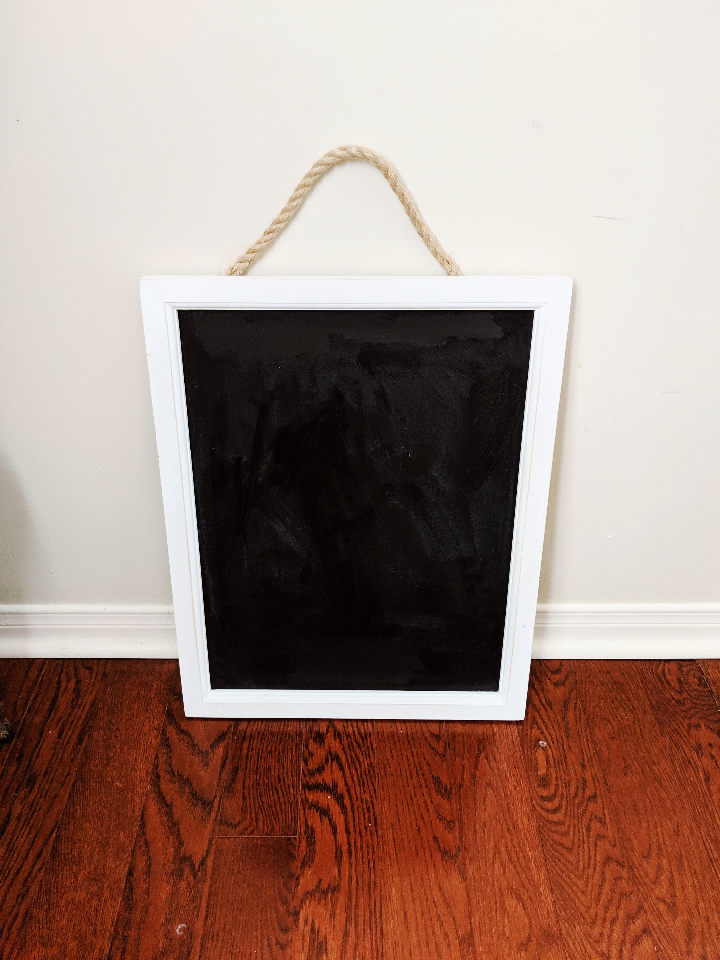 """16"""" x 20"""" Chalkboard Sign - Ideal for Welcome sign and Menu signRental Fee: $20; Security Deposit: $45"""