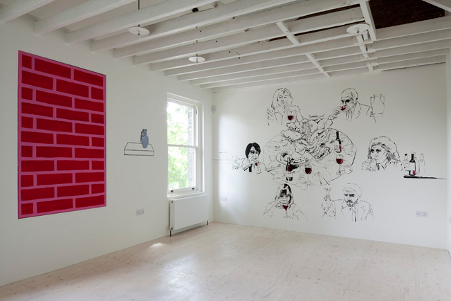 Photo © Outset Artist Flat, South London Gallery