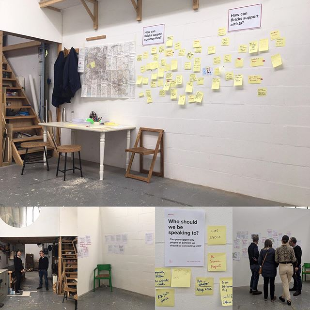 Some photos of last weekends drop in consultation event for @bricksbristol at @spikeisland #openstudios - lots of great feedback, ideas and connections made.  Since which we have had hundreds more people feeding in and joining community though our website.  Please do continue @ www.bricksbristol.org  Let's do this.
