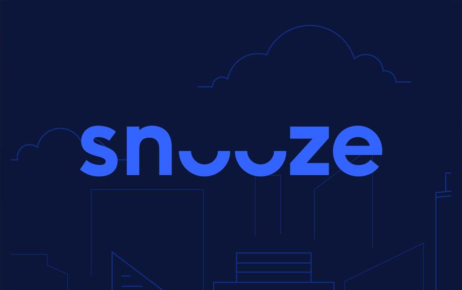 Snooze - Vitamins made for restless dreamersLogo Packaging Branding