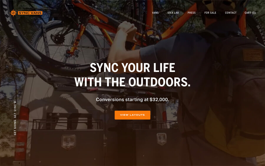 SYNC Vans - Superior fit and finish meets ultimate utilityLogo Digital Strategy Website