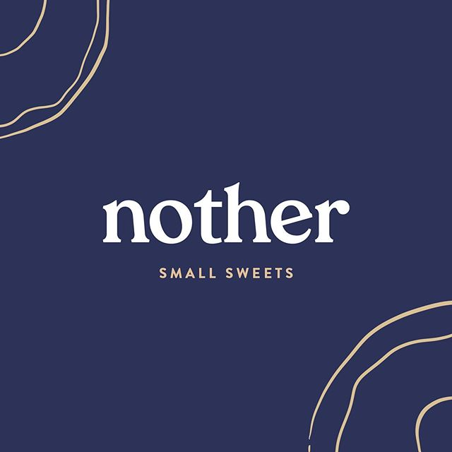 Small sweets and treats from Nother (@eatnother). Name, branding, website, and content creation by @merakite. Stay tuned for more to come 💛 #haveanother