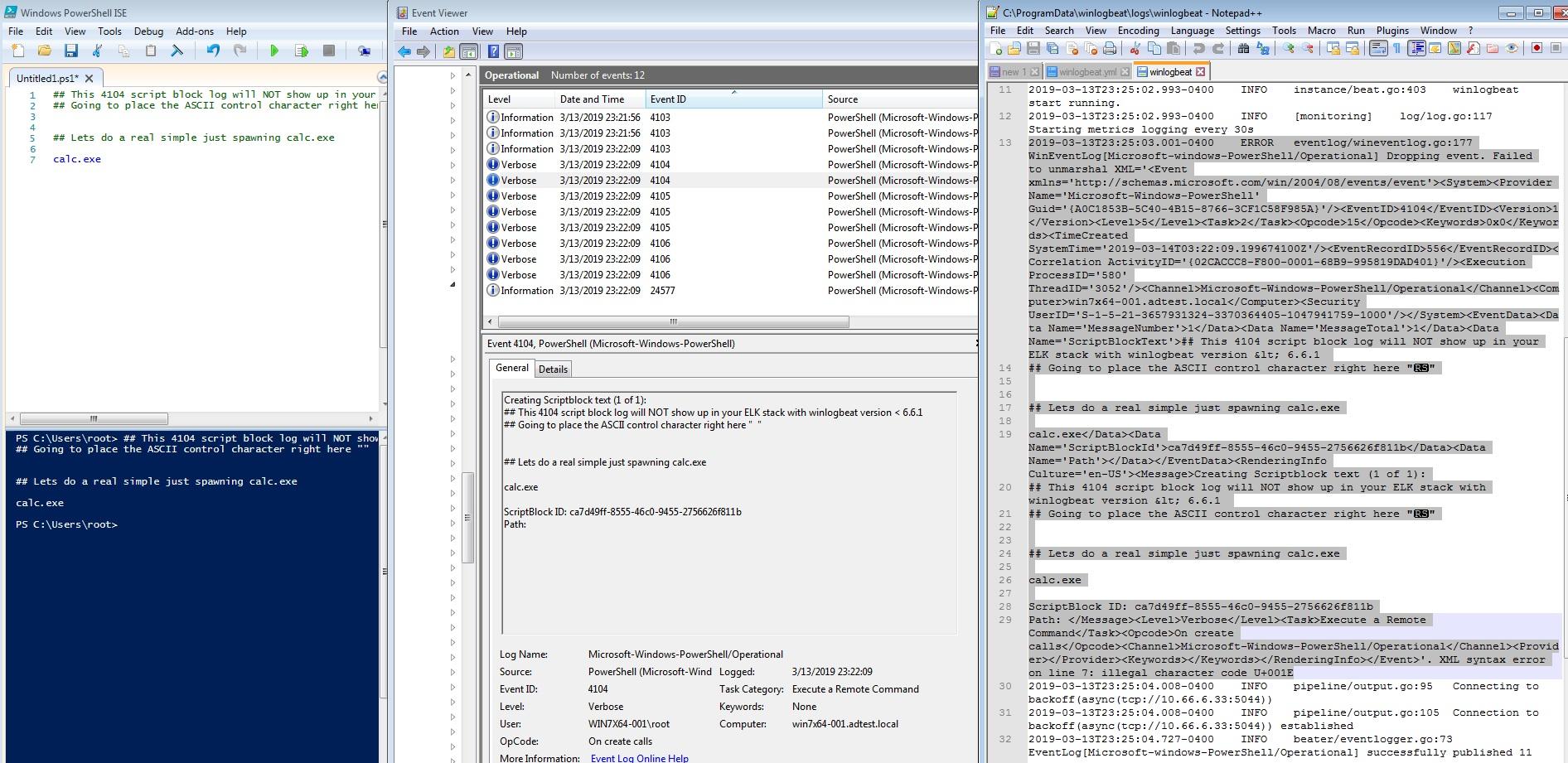 Powershell 4104 Scriptblock Logging Bypass