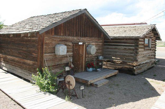 Cabin Yard Entry
