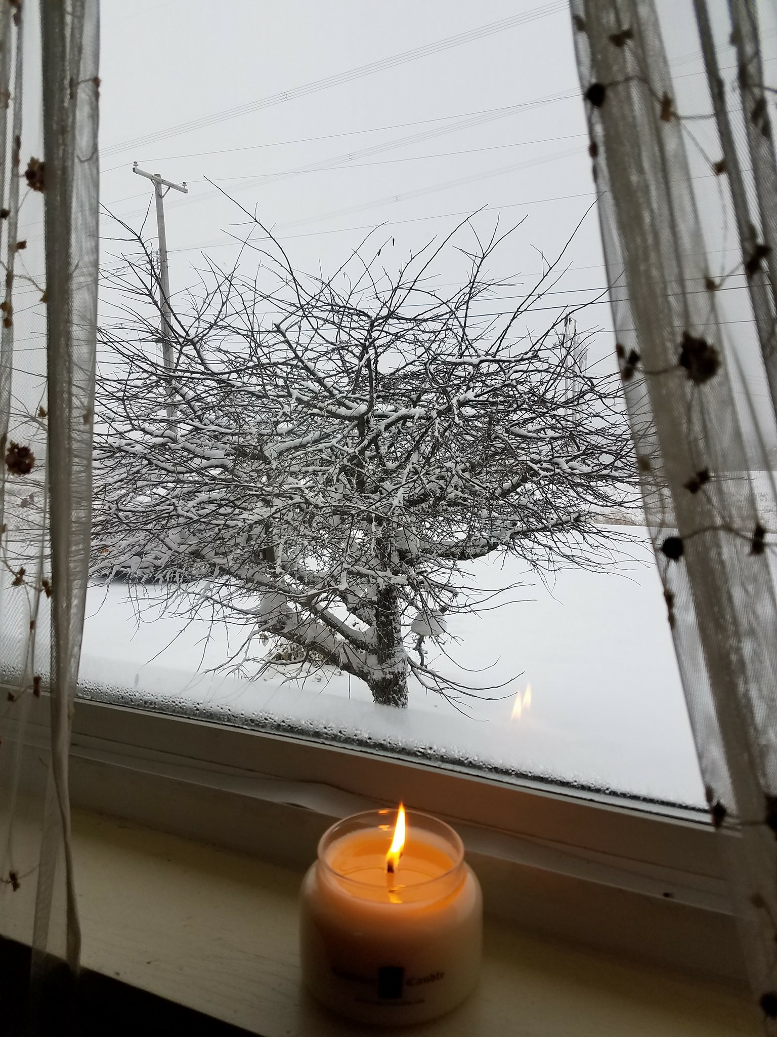 """Kim W. - Guidlerland, NY  """"I love working from Home Sweet Home with my Home Sweet Home candle from Castleton Candle! """""""