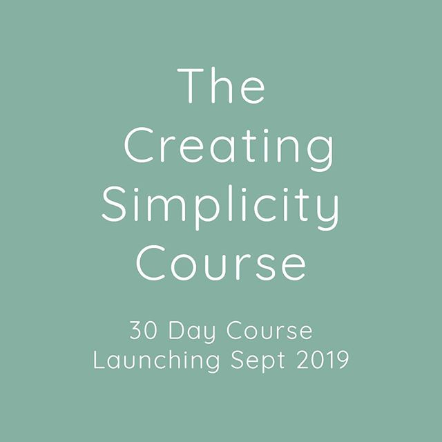 🤩🥳BIG NEWS! 🤩🥳 . After the success of Creating Simplicity: 7 Days of Powerful Lessons (which are still live, listen for free for one more week - link in bio!), more resources and life changing lessons will be shared in a 30 day course. Launching Sept 2019, stay tuned for updates here on Insta and FB @creating.time.coaching ❤️🙏 . . . #coaching #growth #mentorship #goals #simplicity #simpleliving #simplelife #minimalism #tonyrobbins #reganhillyer #this #truth #🙏 #❤️ #🙌