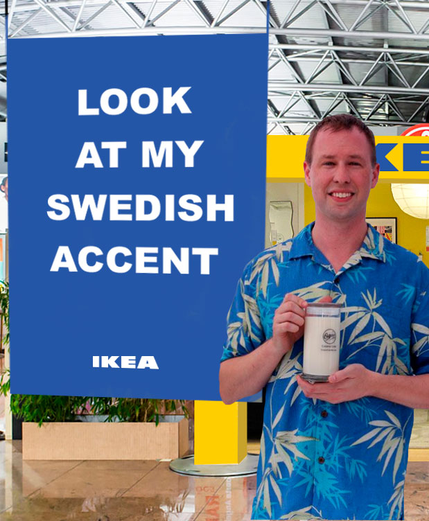 Ikea will take people's pictures with their new accent pieces and post it on Instagram and Twitter.