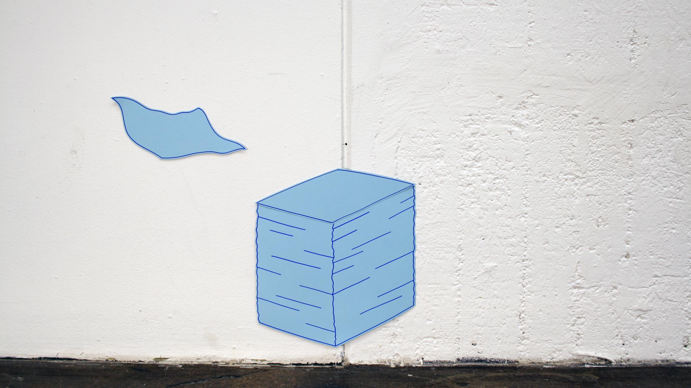 Paper Trail  (animation still), 2017
