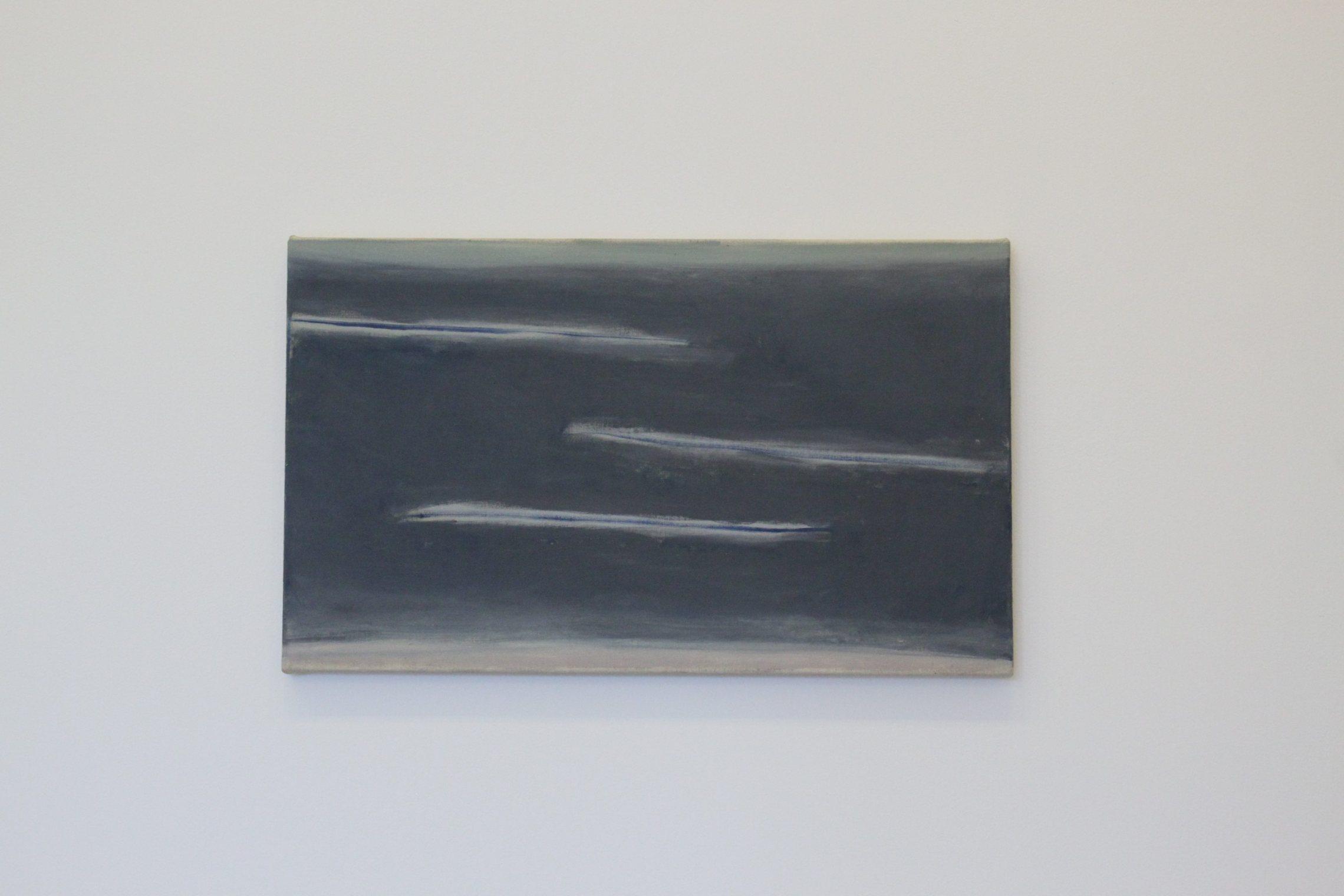 January  (2015), oil on canvas