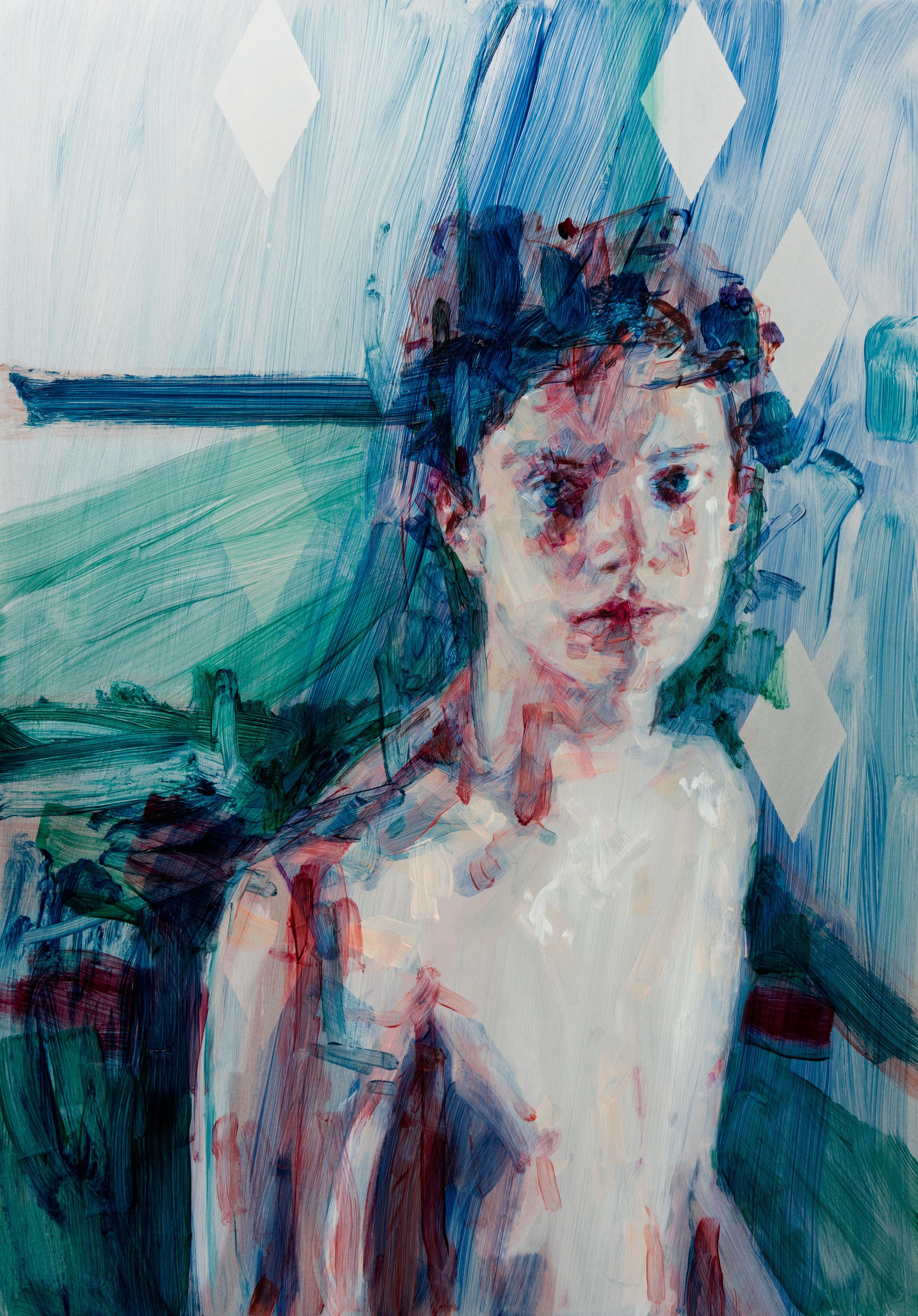 Casper White –Daniel, 2018. Image courtesy of LLE Gallery
