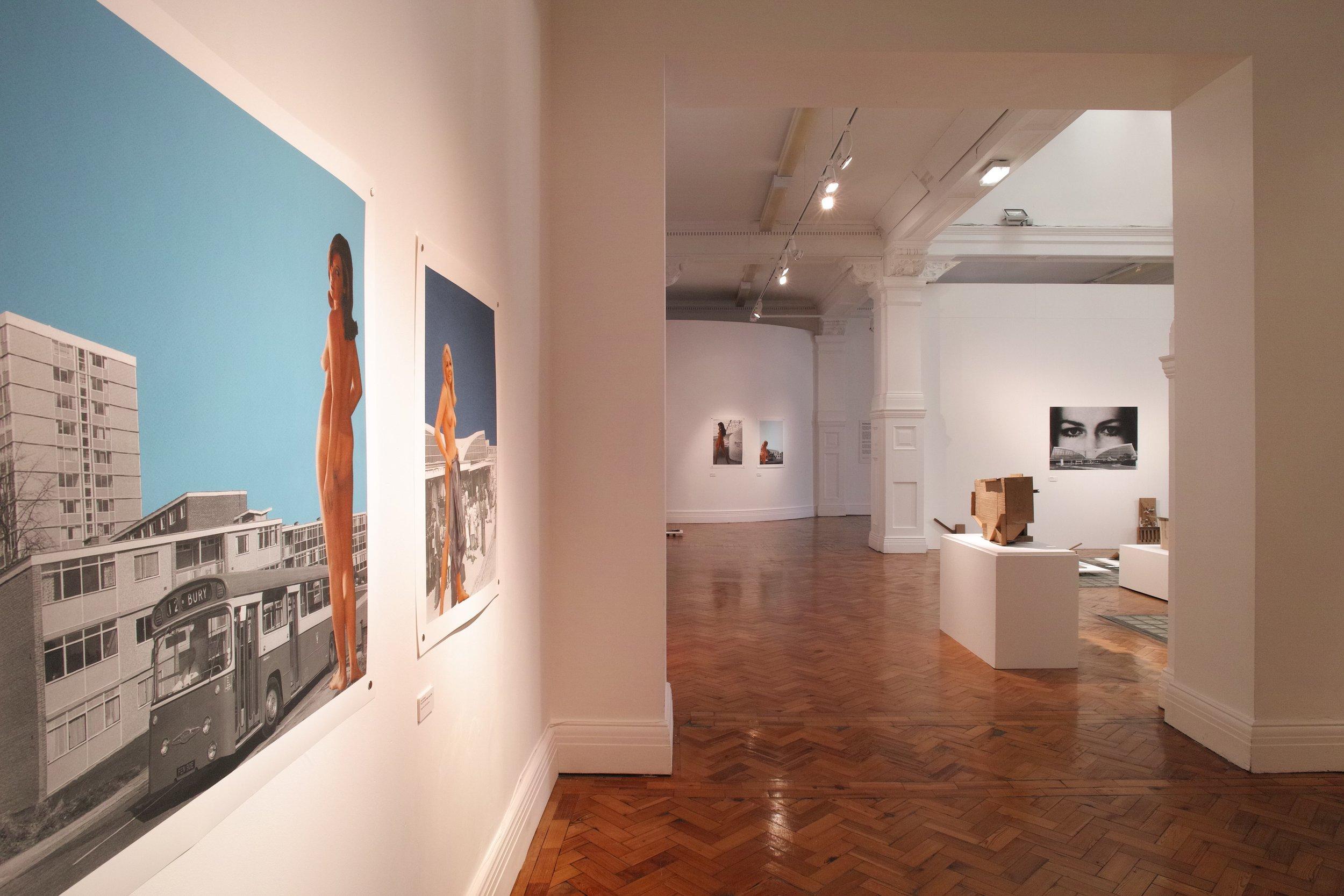 Architecture Now (install shot) at Bury Art Museum & Sculpture Centre, 2019