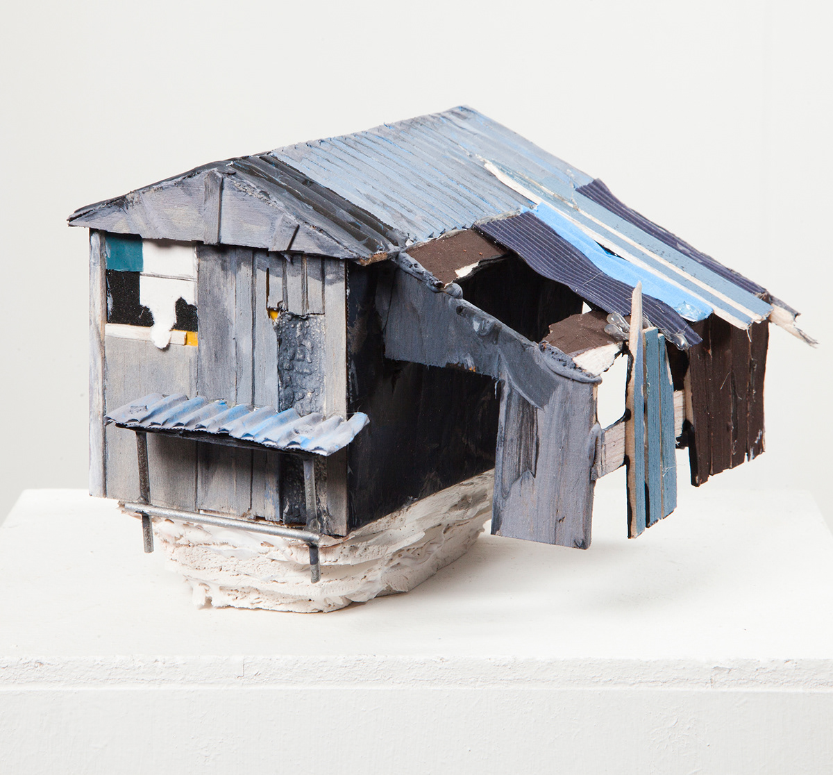 Sheds of Rochdale. Shed on Stilts (2013). Mixed media. Photo by David Bennett