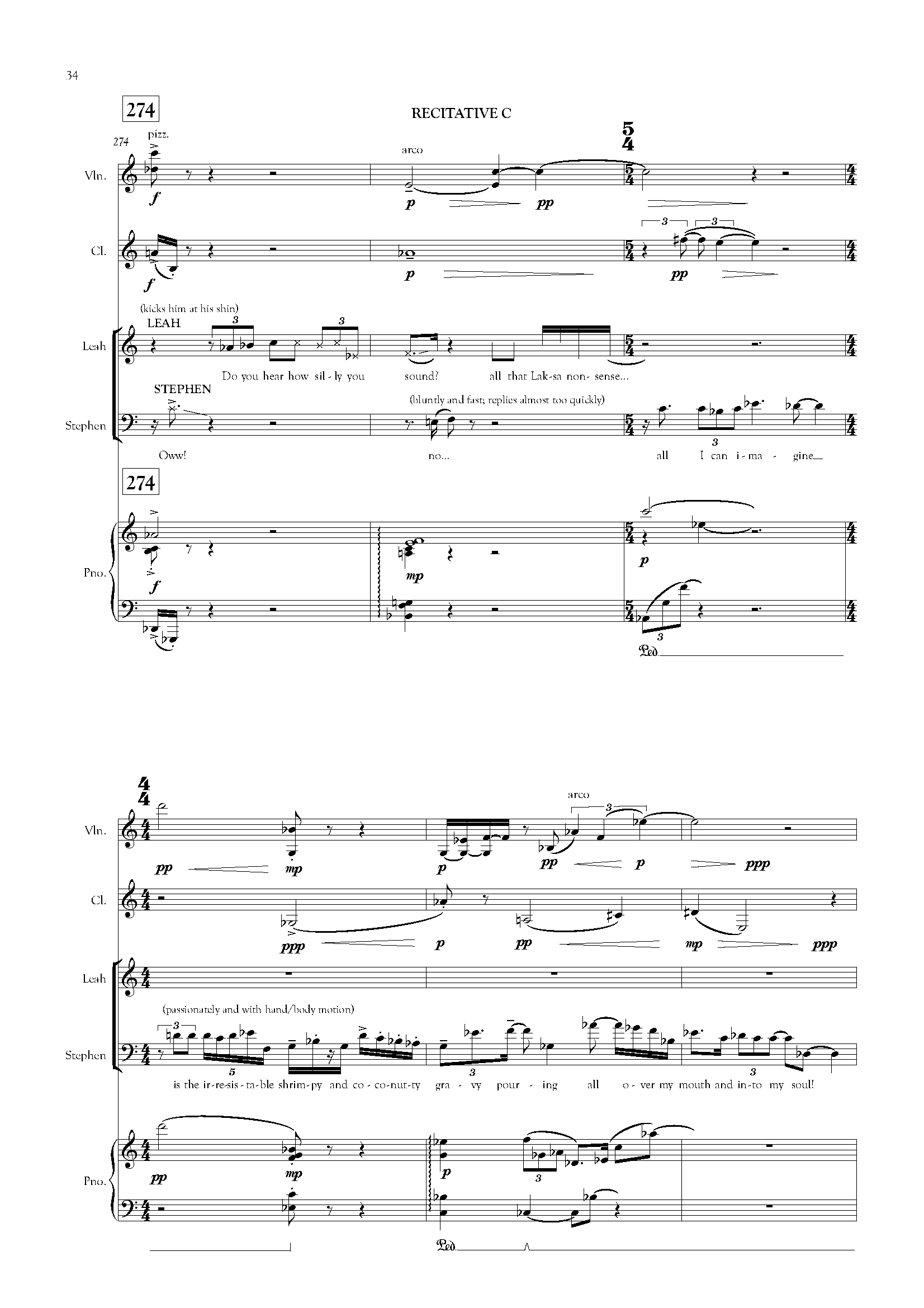 CHEN Zhangyi: Laksa Cantata (text by Jack Lin) (2012, rev. 2018)