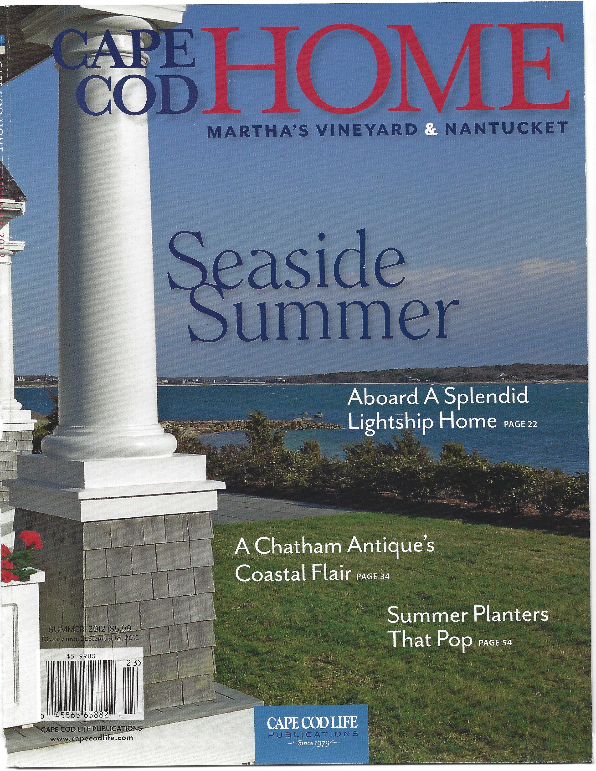 cape cod home 2012 cover