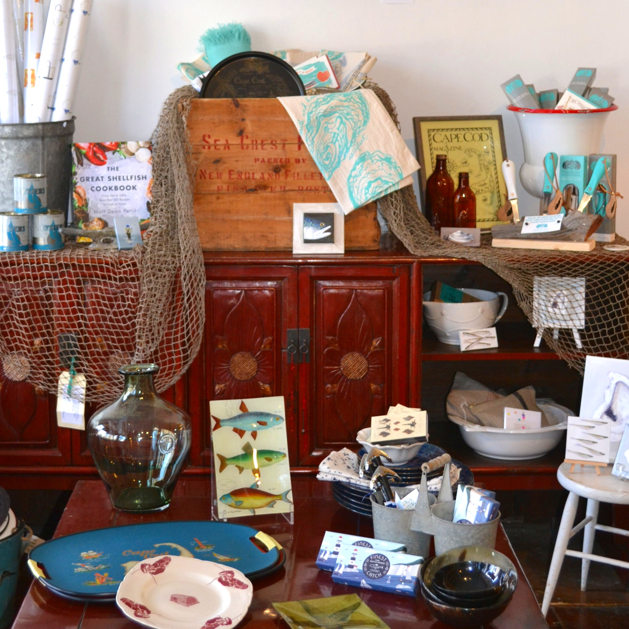 We have a variety of sea-themed items for the fisherman in your life