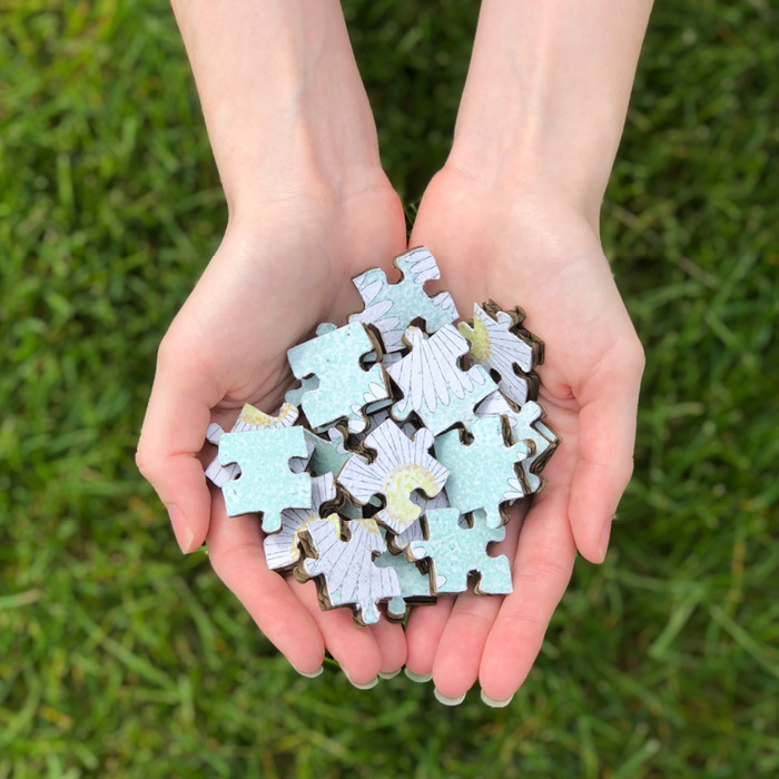 THE BREAKDOWN   This biodegradable puzzle encourages kids to have a positive environmental impact. Exhibited at NYCxDesign Week 2019.