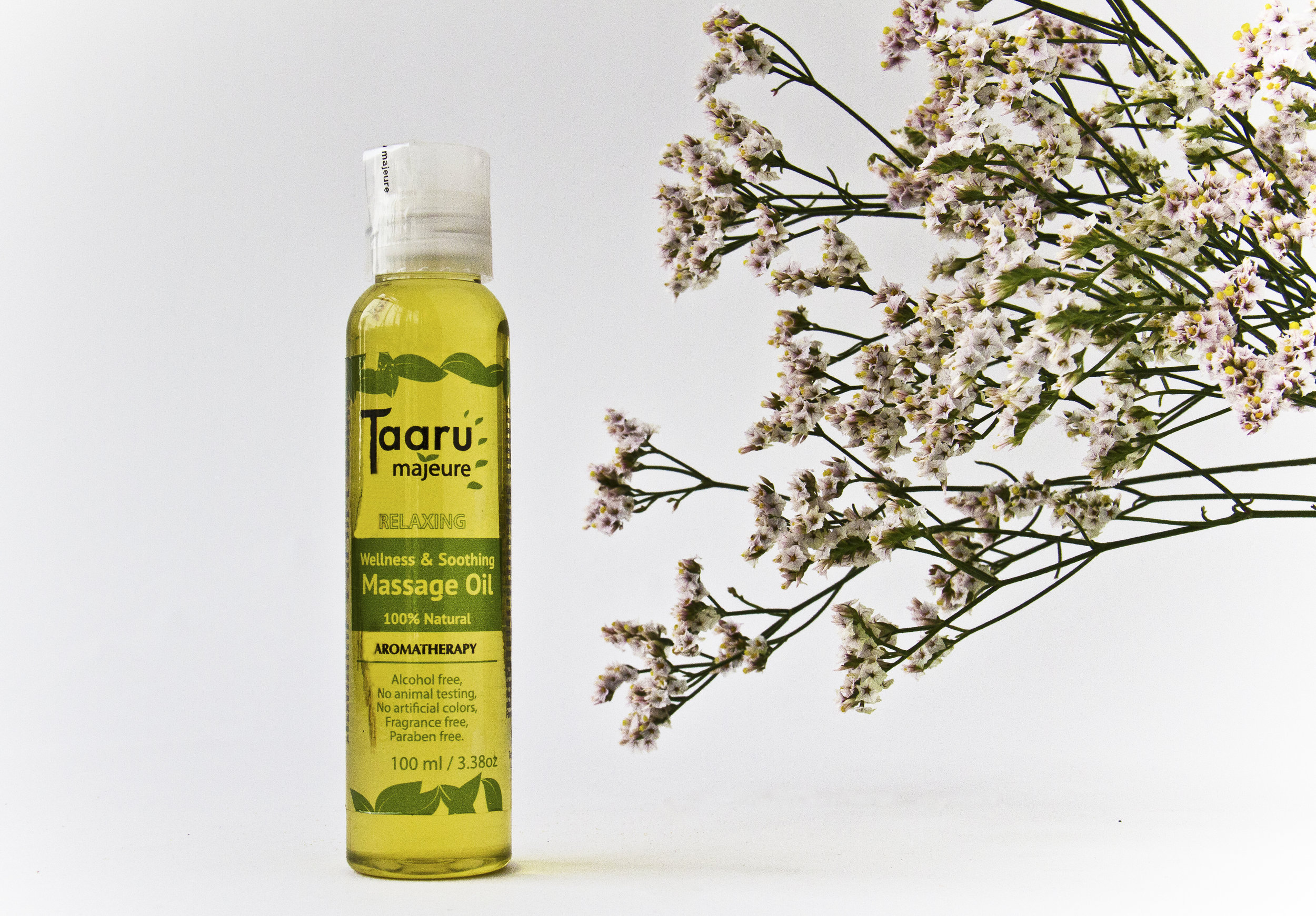 Wellness & Soothing Massage Oil