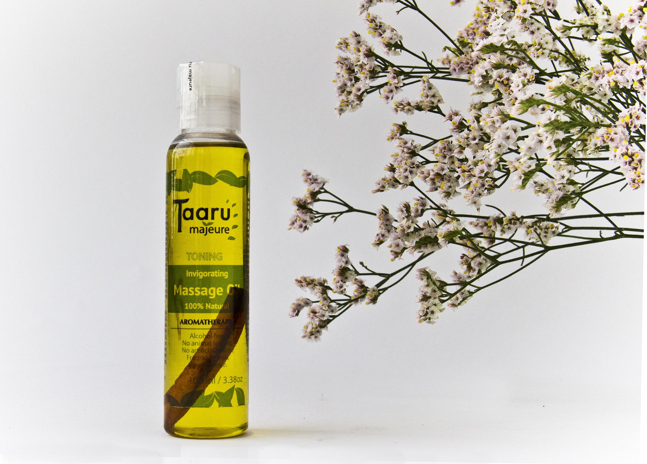 Toning Massage Oil
