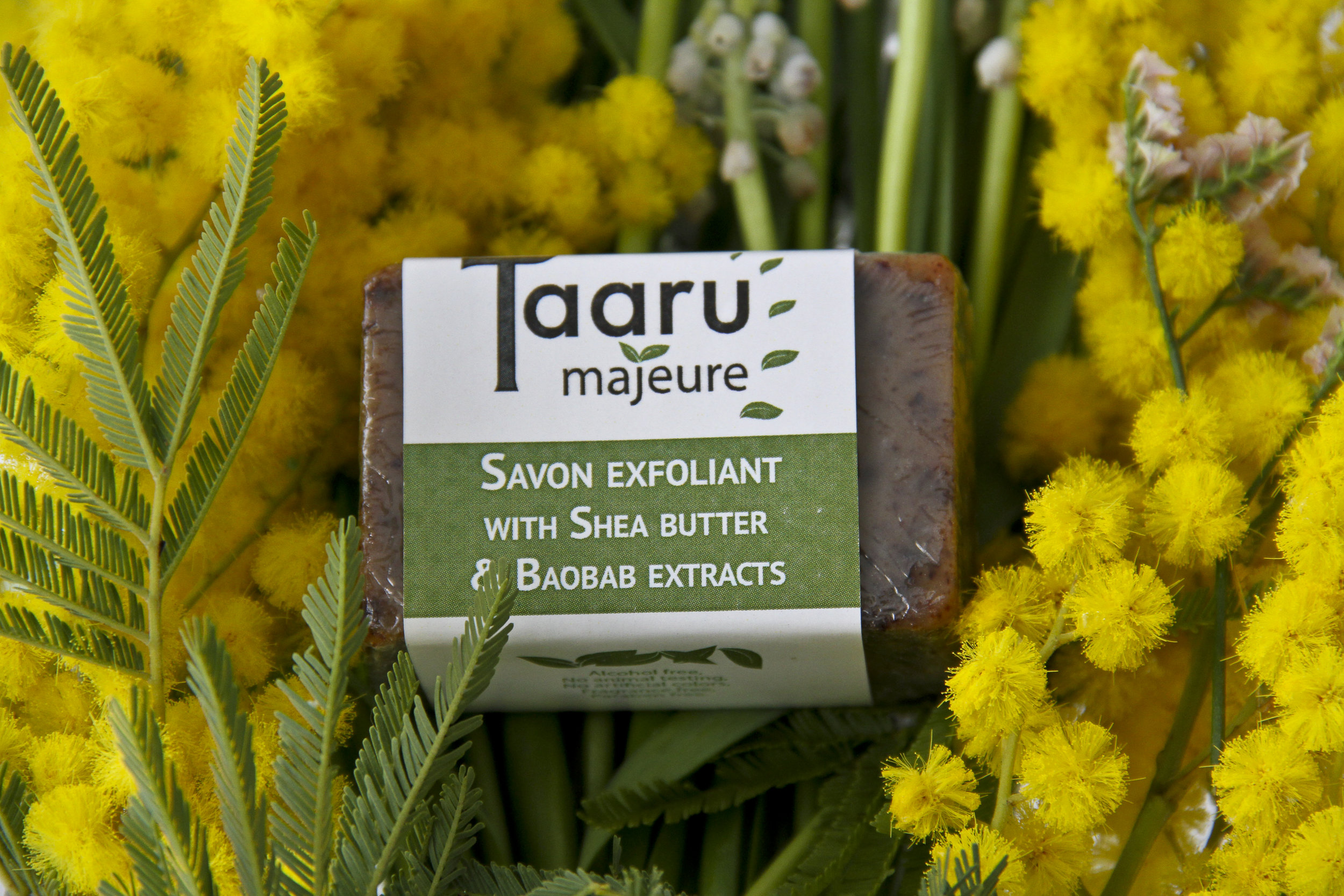 Savon Exfoliant Soap with Shea Butter