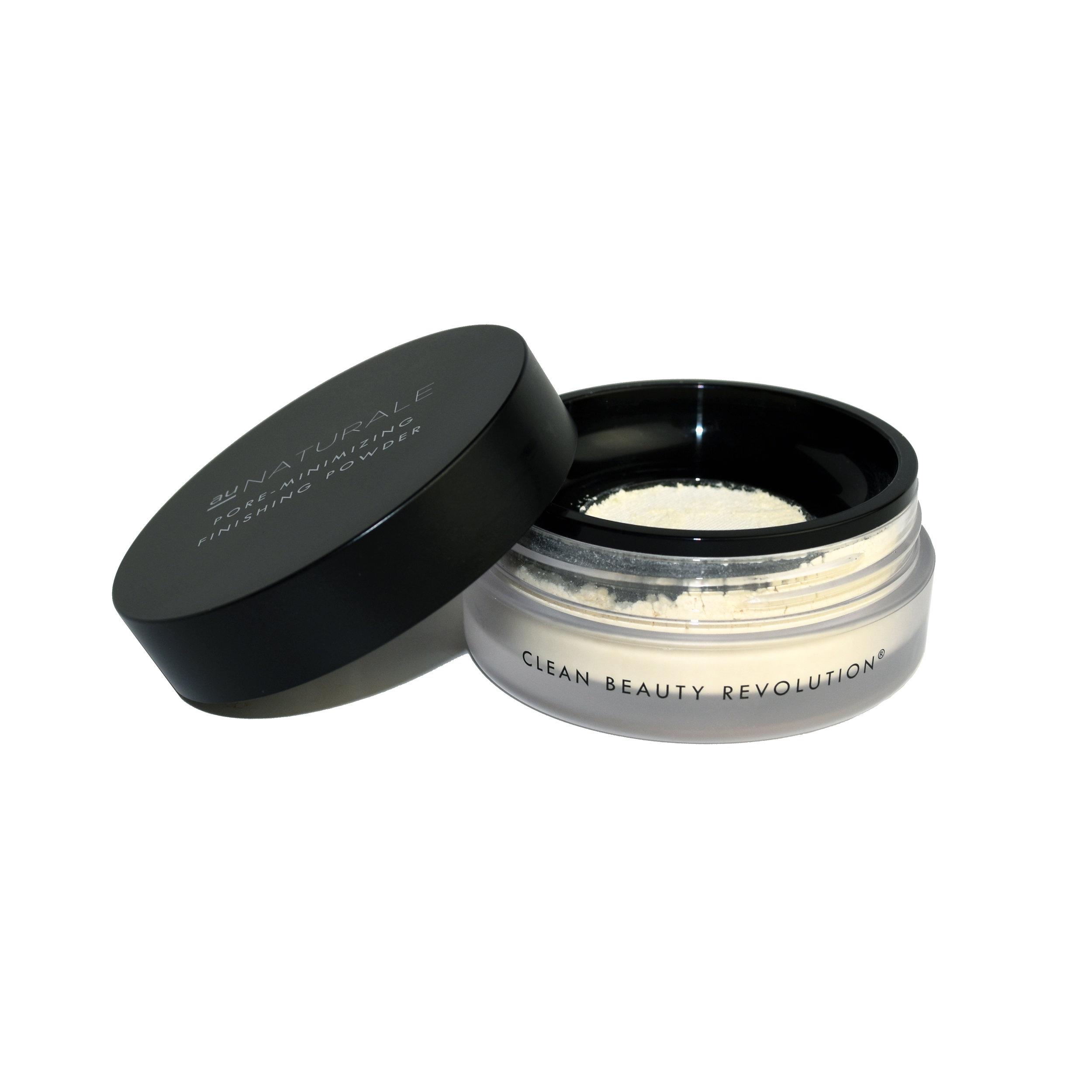 Translucent Pore-Minimizing Finishing Powder