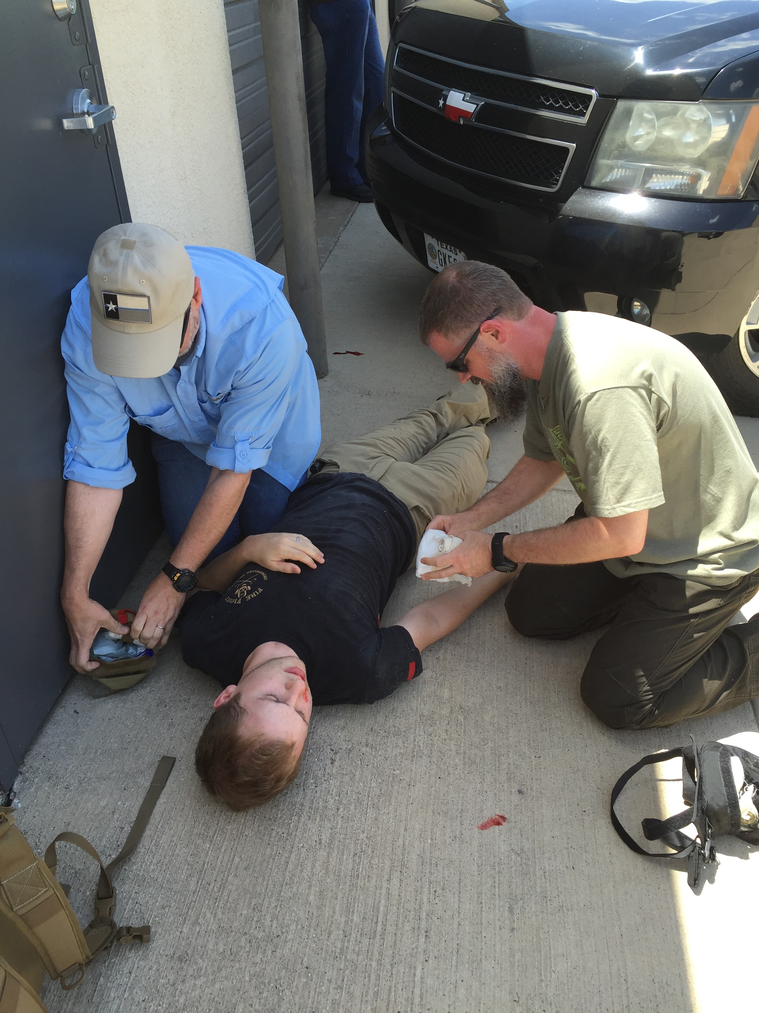 Learn by doing… - We utilize scenario-based training to help drive home the skills learned in class.
