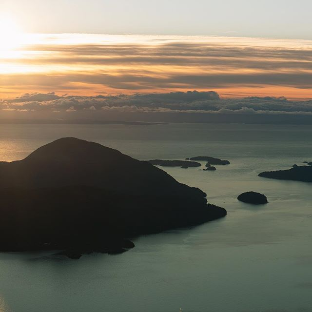 View from Mt. Harvey a week or so ago. - - - - #thatlightingtho #vancouver #lionsbay #eveningvibes #mtharvey #vancouverbc #beautifulbc #vancouverweddingphotographer #vancityscape #vancouver_canada #fromwhereistand #bowenisland #adventureweddingphotographer