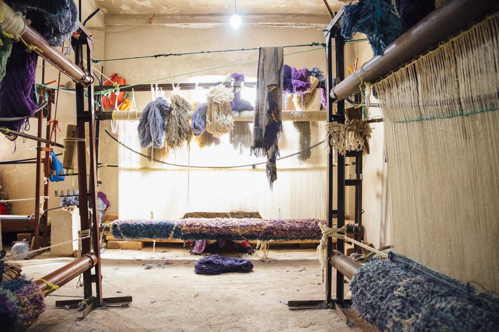 Les Nomades Carpets - Women of the Loom Weaving Workshop
