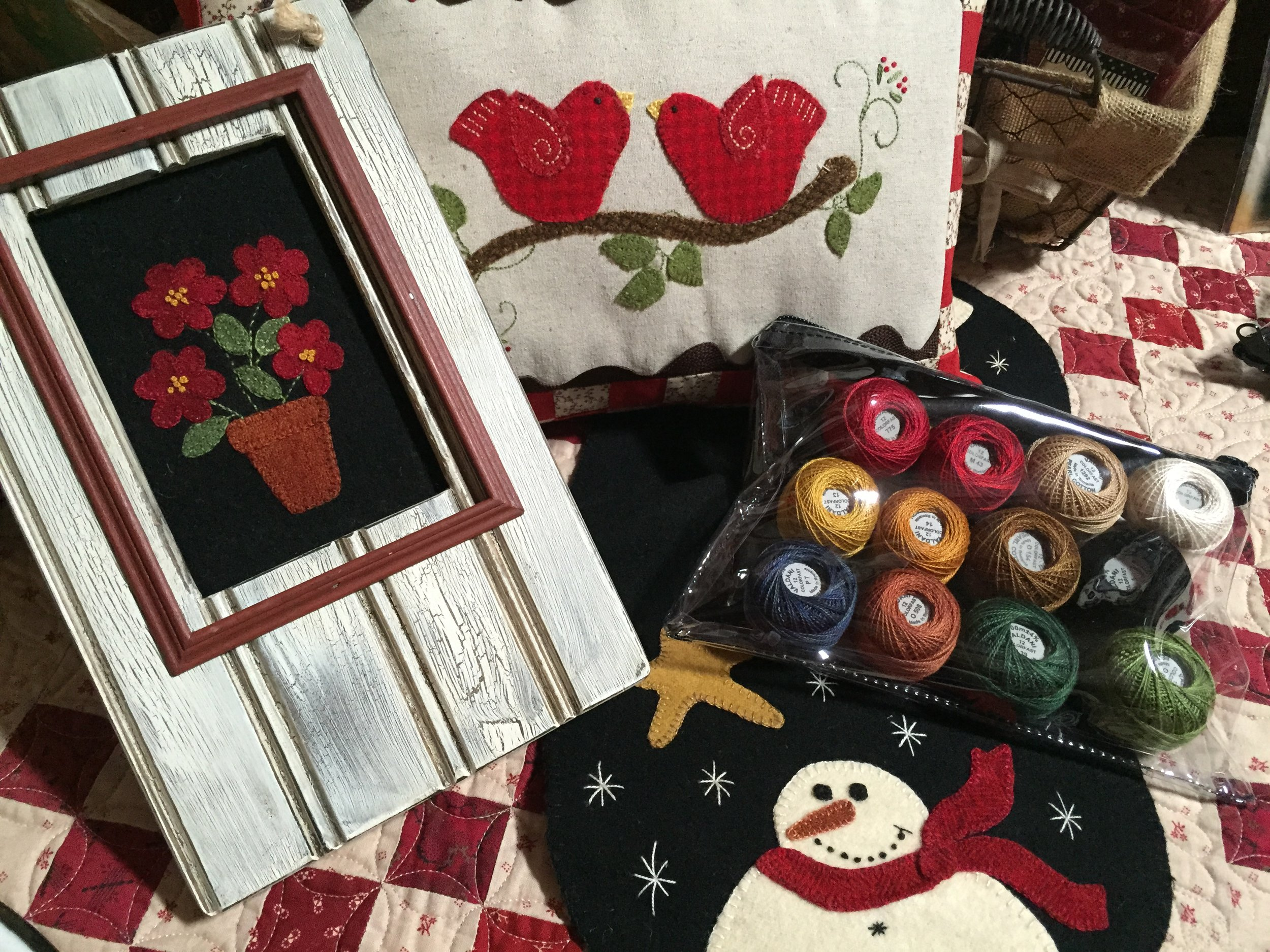 On this site we showcase a few of our patterns and kits, be sure to visit our    Etsy Shop    for all of our designs and supplies!