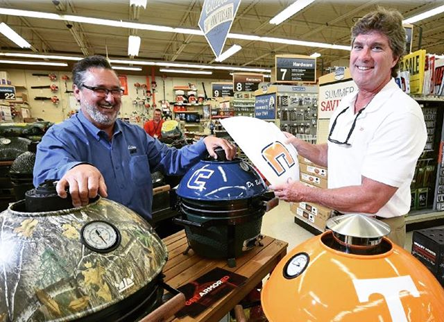 """Chattanooga inventor puts a new mark on Big Green Egg grilling with Armor Shields"" Have you read our article in the Times Free Press?  We are now sold at Elder's Ace Hardware in East Brainerd, TN!"