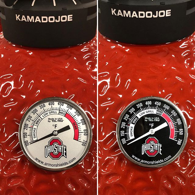 This is the way OSU fans bling their Kamado Joe!! #osu #osufootball #buckeyes