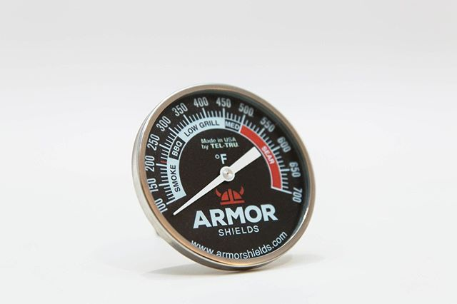 Our Tel-Tru temperature gauge can fit over 25 different brands of grills!⠀ Do we even have to mention that it's customizable?