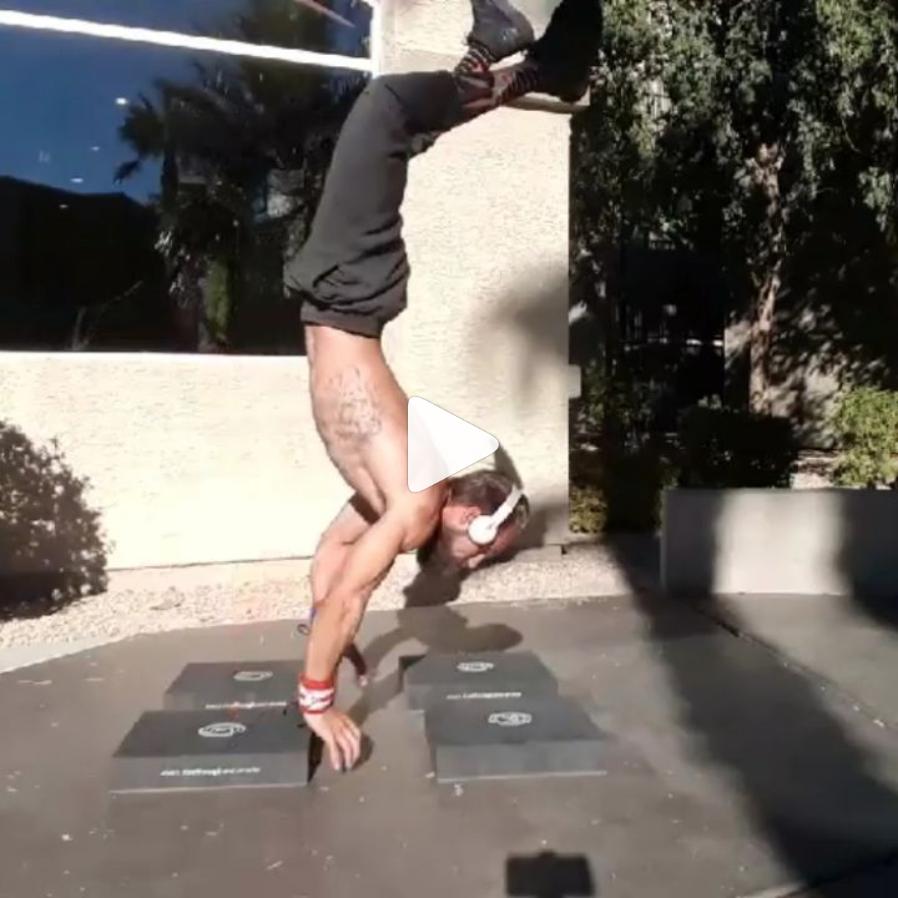 Handstand Workout -