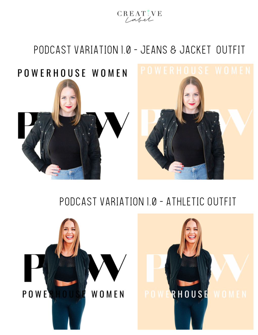 Podcast Artwork Design - Designed multiple options to select from for the clients podcast artwork.