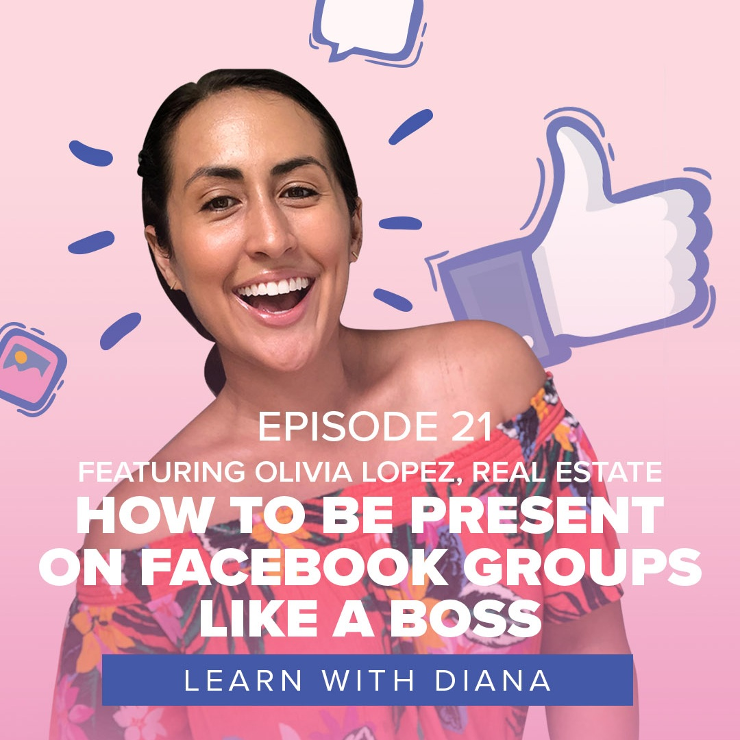 fresh on IGTV - Watch episode 21 featuring Olivia and I talking about the power of Facebook groups and a strong profile cover image